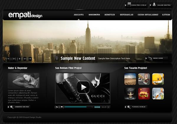 Retro Website Design Inspiration